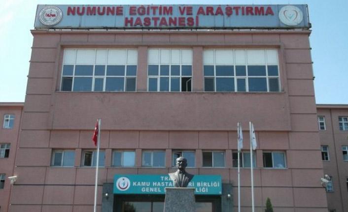 Trabzon'da Numune Hastanesinde akıllara durgunluk veren bir olay yaşandığı iddia edildi.