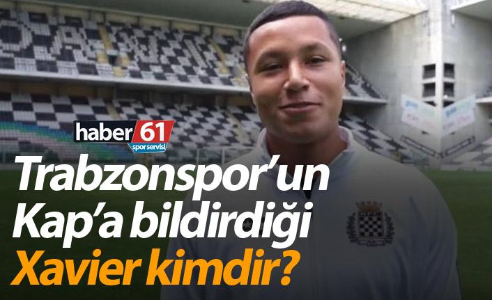 Trabzonspor Marlon Rodrigues Xavier'i KAP'a bildirdi