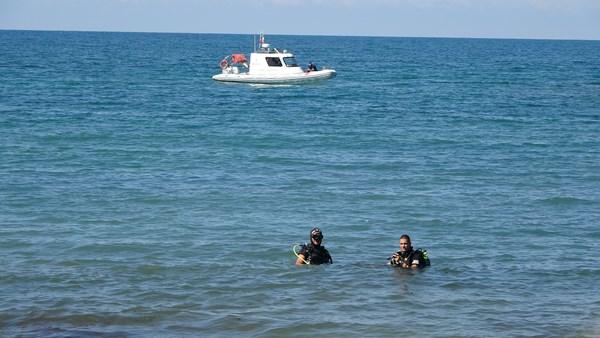 Ordu'da denizde kaybolan gencin son görüntüleri ortaya çıktı