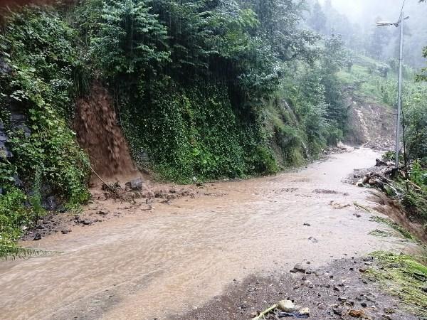 Trabzon'da şiddetli yağış heyelan getirdi