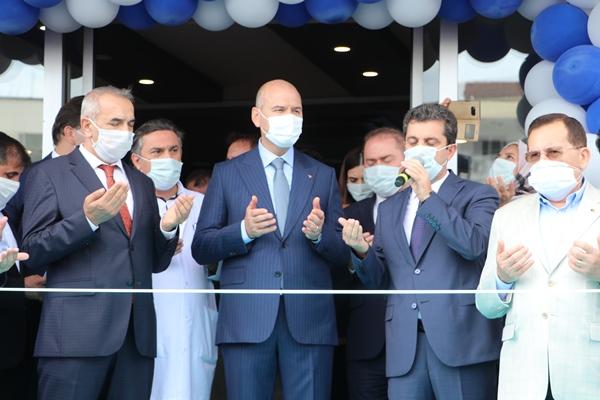 """Bakan Süleyman Soylu """"bir tek o projeye başlayamadık"""" dedi ve bakın neler söyledi"""