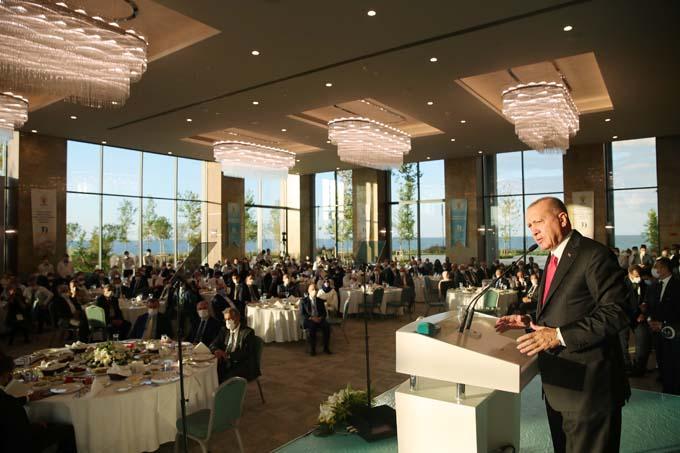 Cumhurbaşkanı Erdoğan Rize'den Yunanistan'a tepki! Sümela'yı örnek verdi