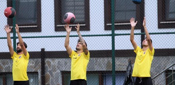 Hekimoğlu Trabzon hazırlıklarını sürdürüyor