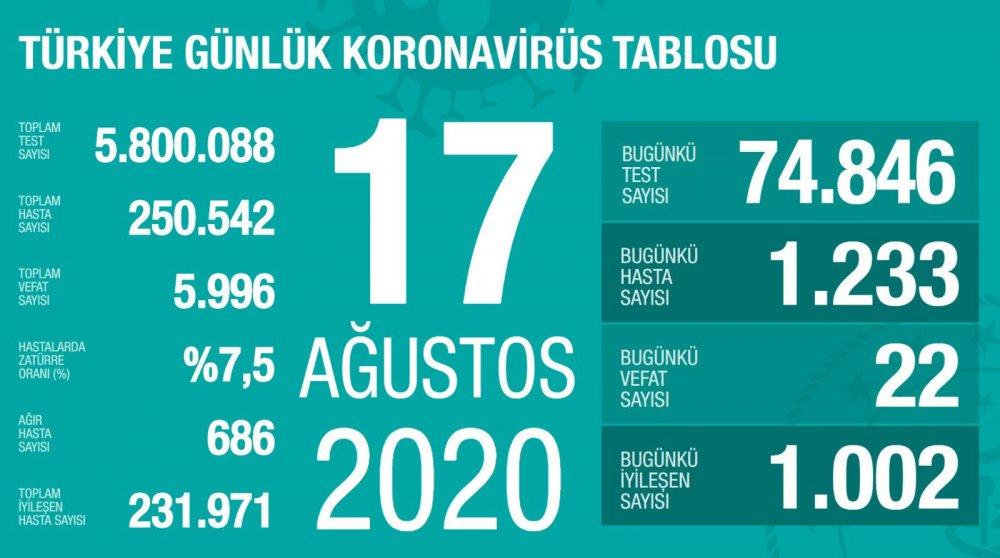 Türkiye'de günün koronavirüs raporu - 13.04.2020