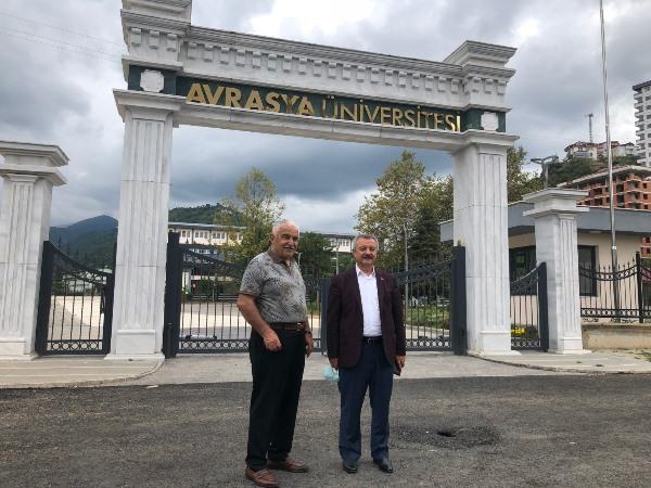 Milletvekili Polat'tan Avrasya Üniversitesine ziyaret