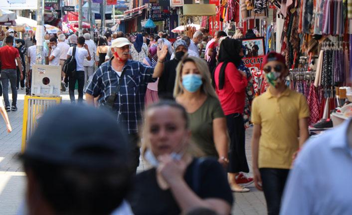 Cadde ve sokaklarda maske denetimi yapıldı