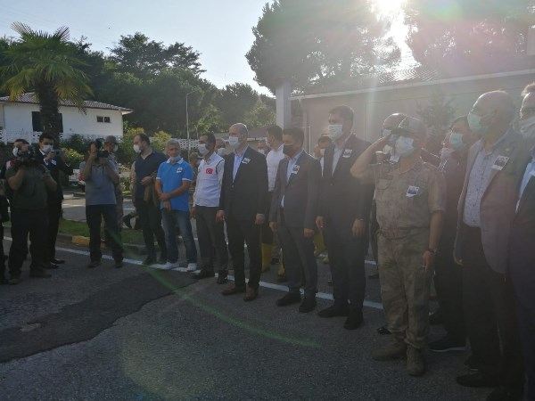 Giresun'da selde şehit olmuştu! Uzman Çavuş Onur Kıran için tören düzenlendi