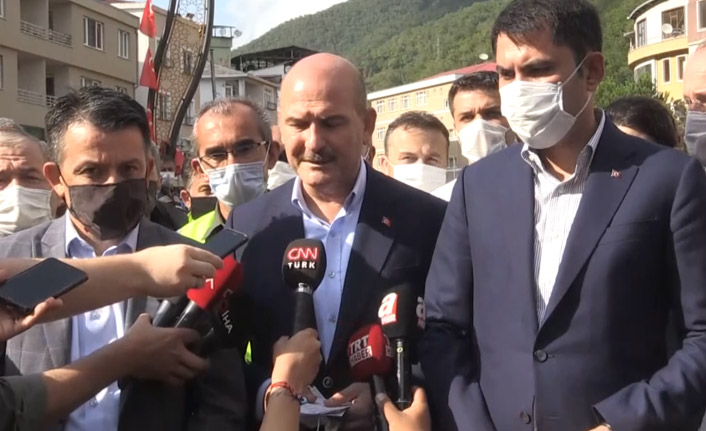 """Giresun'da 3 bakandan sel açıklaması: """"Bu kadar ağır bir tablo beklemiyorduk"""""""