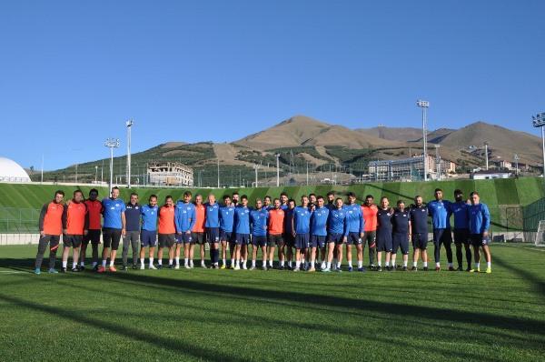 Hekimoğlu Trabzon Erzurum kampına başladı
