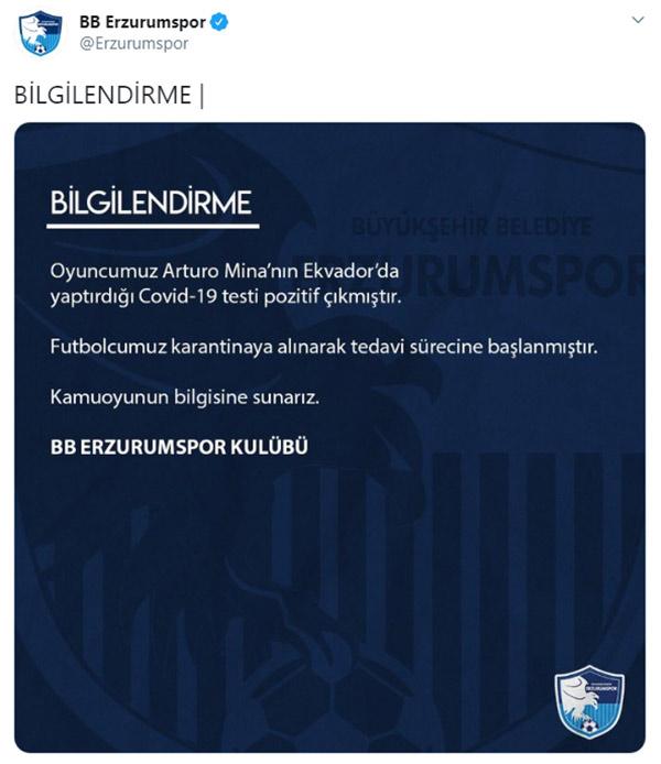 Trabzonspor'un hazırlık maçı yapacağı rakibinde Koronavirüs şoku