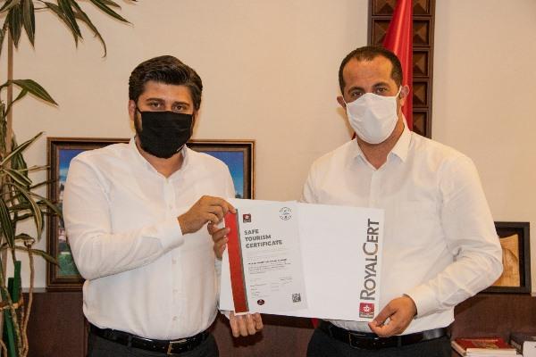 Timurciler konağına güvenli turizm sertifikası