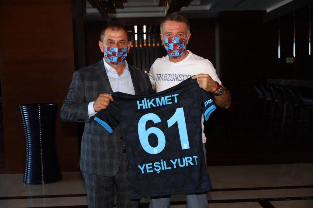 Trabzonspor'a Yeşilyurtlar'dan destek