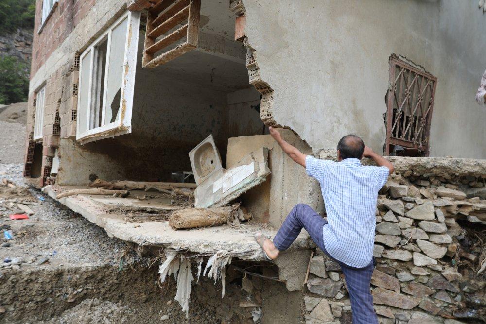 Giresun'da sel bölgesinden göç başladı