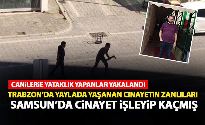 Trabzon ve Samsun'da cinayet işleyen kişilere yardım edenler hakkında karar verildi