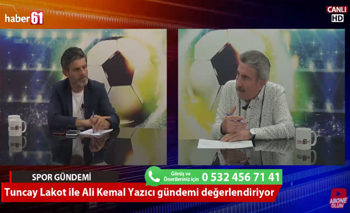 """Trabzonspor yazarından önemli  açıklamalar: """"Büyükşehir kadrosunda olup Başakşehir'de görev yapan personel vardı"""""""