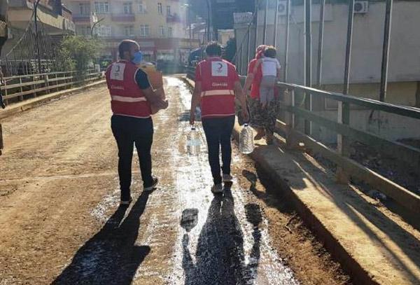 Genç Kızılay Trabzon'un gönül erleri Giresun'da