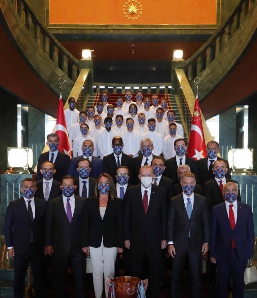 Trabzonspor'un Cumhurbaşkanı Erdoğan'ı ziyaretinin detayları ortaya çıktı