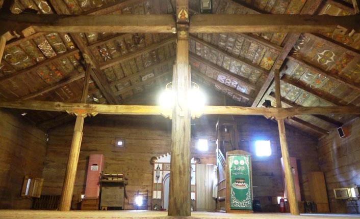 Samsun'daki Çivisiz Cami'nin 8 asırlık sırrı çözüldü