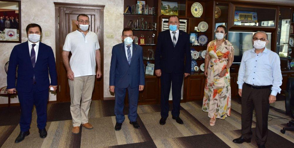 Krymsk heyetinden TTSO'ya ziyaret