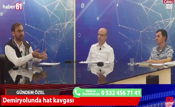 """""""Erzurum – Rize Demiryolu hattı için Trabzon Büyükşehir Belediyesi uygun değildir yazısı yazdı"""""""