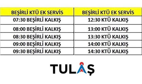 Trabzon'da KPSS için özel otobüs tarifesi