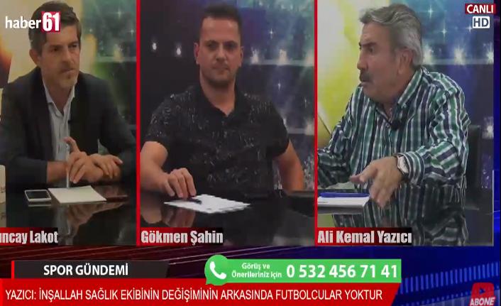 Trabzonspor'daki son gelişmeler Spor Gündeminde!
