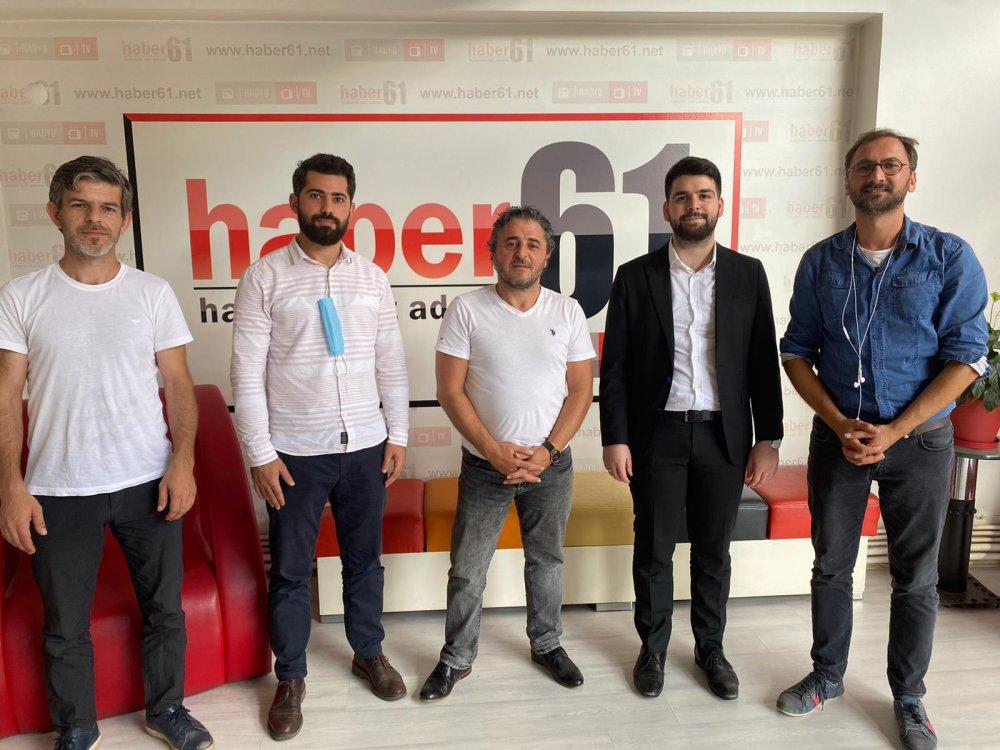 """Sefa Aydın'dan Haber61'e ziyaret:  """"Biz bölünmelere rağmen her dönem ülkeyi yönetecek kadrolar yetiştirdik"""""""