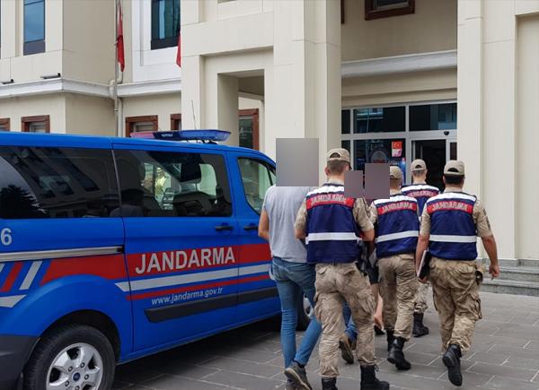 Trabzon'da hırsızlar suçüstü yakalandı! 3 gözaltı