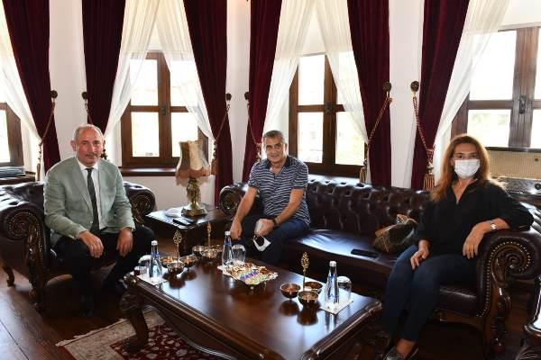 Şenol Güneş'ten Trabzon Büyükşehir Belediyesi'ne ziyaret