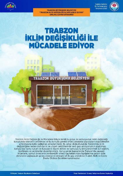 Trabzon Büyükşehir Belediyesi'ne 'sağlıklı çevre' ödülü