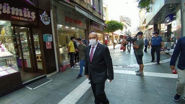 Trabzon'da koronavirüs denetimi! Vali Ustaoğlu tek tek uyardı