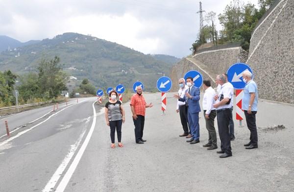 CHP'li Kaya Akçaabat-Düzköy yolunu sordu, dere yatağı uyarısı yaptı
