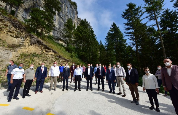 Trabzon'daki Şahinkaya bölgenin gözdesi olacak