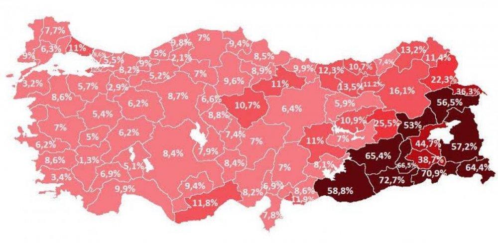 Türkiye'nin kaçak elektrik haritası! İşte Trabzon'un oranı