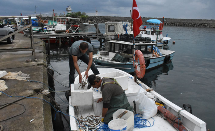 Balıkçılar soğuk havayı bekliyor