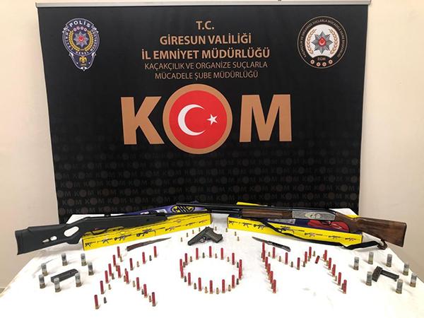 Giresun'da yıkım ekibine saldıran 9 şüpheli tutuklandı