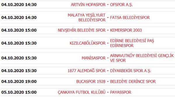 Süper Lig puan durumu, Süper Lig 3. Hafta maç sonuçları ve 4. Hafta maçları