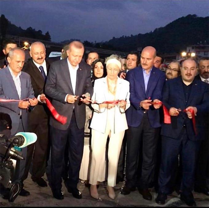 Trabzon'da turizm tesisi karanlıkta kaldı