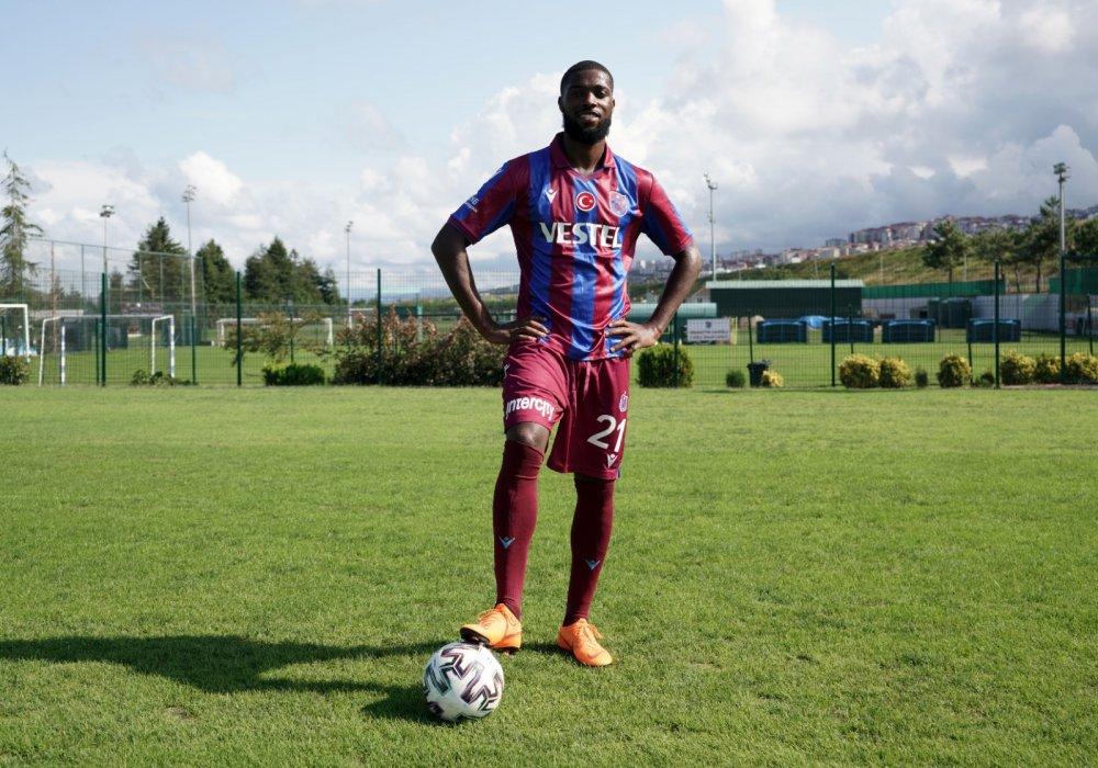 Trabzonspor'un yeni transferi Djaniny'den ilk açıklama! İşte forma numarası