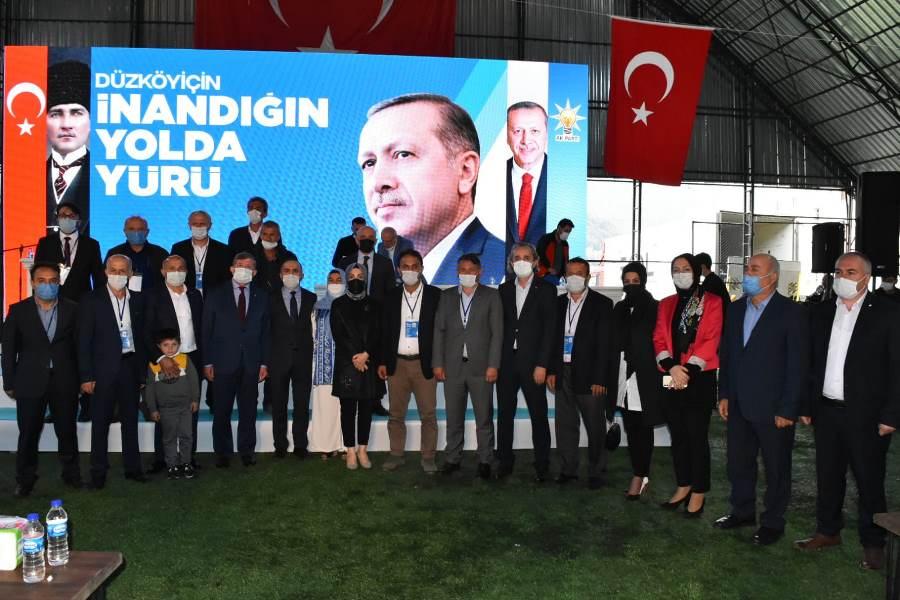 AK Parti Düzköy'de kongre heyecanı
