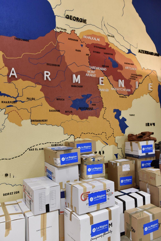 Skandal Paylaşım! Trabzon'dan itibaren Türk topraklarını Ermenistan olarak gösterdi