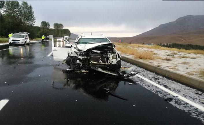 Van'da zincirleme trafik kazası