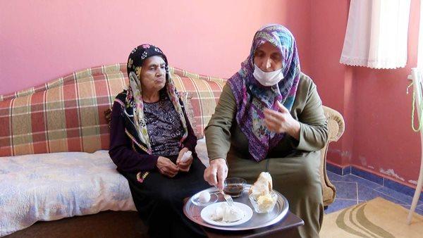 Rize'de 84 yaşında koronavirüsü yendi, 'Bal, tereyağı, yoğurt tükettim' dedi.