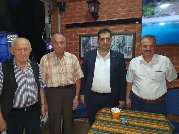 Yasin Aydın mahalle teşkilatlarına hedeflerini açıkladı