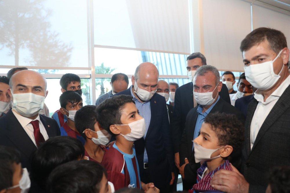 Bakan Soylu'dan Mardinli çocuklara Trabzon sözü