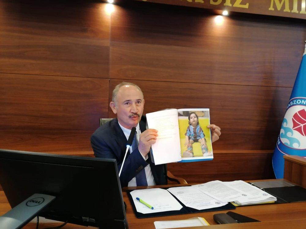 SMA hastası Demir Ali'ye Trabzon'dan destek!