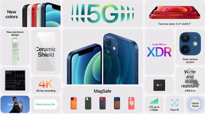 iPhone 12 tanıtıldı! iPhone 12 özellikleri ve bütün detaylar