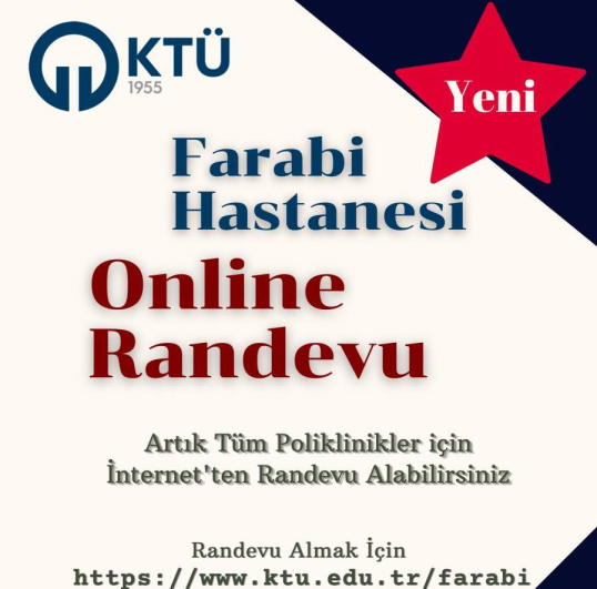 Trabzon'da Farabi hastanesinde yeni hizmet