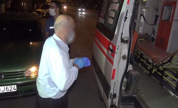 Hastaneden kaçan korona hastası minibüste yakalandı