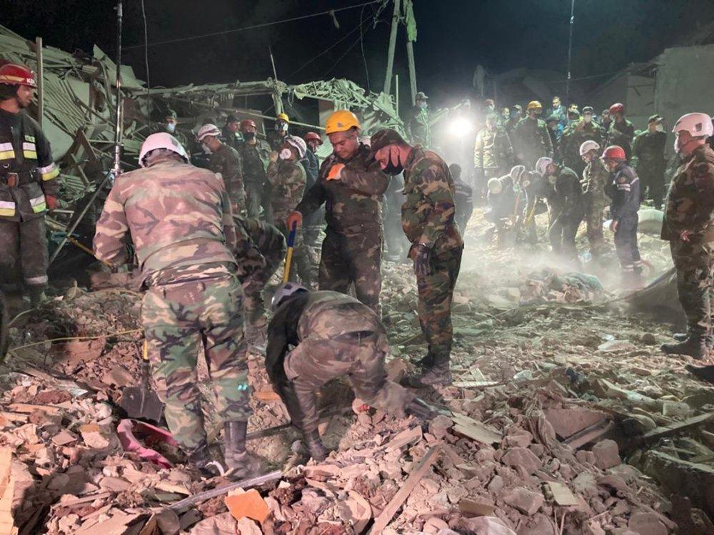 Ermenistan yine füzeyle vurdu! 12 Kişi hayatını kaybetti